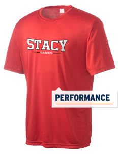 Stacy Middle School Hawks Men's Competitor Performance T-Shirt