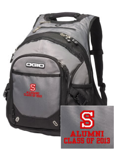 Stacy Middle School Hawks Embroidered OGIO Fugitive Backpack