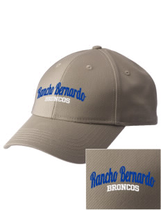 Rancho Bernardo High School Broncos  Embroidered New Era Adjustable Structured Cap