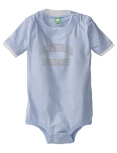 Rancho Bernardo High School Broncos Baby One-Piece with Shoulder Snaps