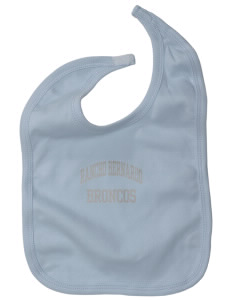 Rancho Bernardo High School Broncos Baby Interlock Bib