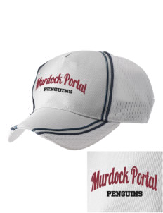 Murdock Portal Elementary School Penguins  Embroidered Champion Athletic Cap