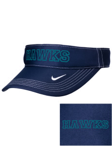 Heights Christian Junior High School Hawks Embroidered Nike Golf Dri-Fit Swoosh Visor