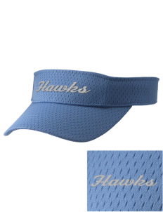 Heights Christian Junior High School Hawks Embroidered Woven Cotton Visor