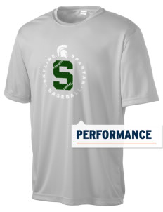 Skyline High School Spartans Men's Competitor Performance T-Shirt