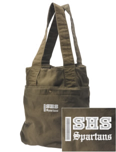 Skyline High School Spartans Embroidered Alternative The Berkeley Tote