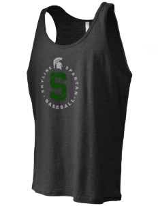 Skyline High School Spartans Men's Jersey Tank