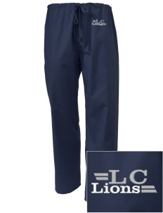 Lyons Creek Middle School Lions Embroidered Scrub Pants