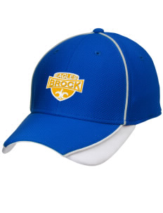 Brock High School Eagles Embroidered New Era Contrast Piped Performance Cap