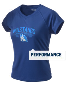 Cairo-Durham Middle School Mustangs Champion Women's Wicking T-Shirt