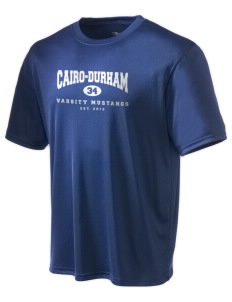 Cairo-Durham Middle School Mustangs Champion Men's Wicking T-Shirt