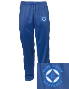 Cairo-Durham Middle School Mustangs Embroidered Men's Tricot Track Pants