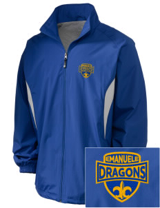 Emanuele Elementary School Dragons Embroidered Holloway Men's Full-Zip Jacket