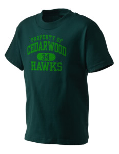 Cedarwood Elementary School Hawks Kid's T-Shirt