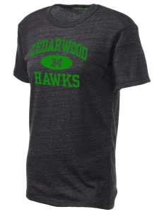 Cedarwood Elementary School Hawks Alternative Unisex Eco Heather T-Shirt