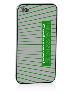 Cedarwood Elementary School Hawks Apple iPhone 4/4S Skin