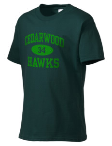 Cedarwood Elementary School Hawks Kid's Essential T-Shirt