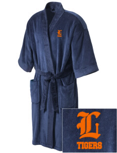 Loveland Elementary School Tigers Embroidered Terry Velour Robe