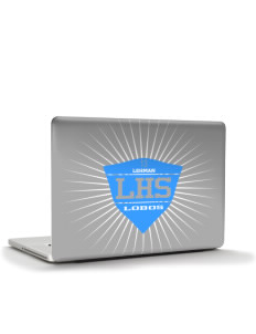 "Lehman High School Lobos Apple MacBook Air 13"" Skin"