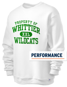 Whittier Elementary School Wildcats  Russell Men's Dri-Power Crewneck Sweatshirt