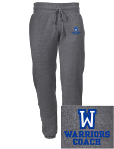Wickes Elementary School Warriors Embroidered Alternative Men's 6.4 oz Costanza Gym Pant