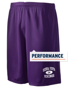 "Sierra Vista Middle School Vikings Holloway Men's Speed Shorts, 9"" Inseam"