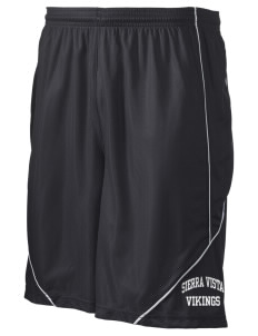 "Sierra Vista Middle School Vikings Men's Pocicharge Mesh Reversible Short, 9"" Inseam"