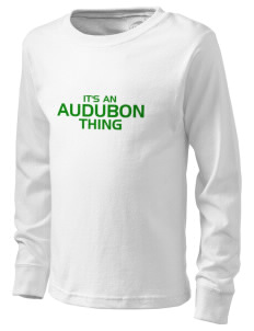 Audubon Junior High School Eagles  Kid's Long Sleeve T-Shirt