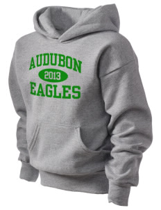 Audubon Junior High School Eagles Kid's Hooded Sweatshirt