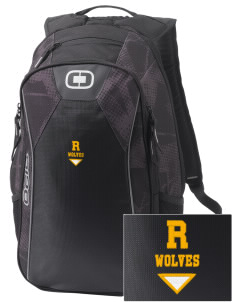 Reed Middle School Wolves Embroidered OGIO Marshall Backpack