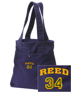 Reed Middle School Wolves Embroidered Alternative The Berkeley Tote