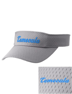 Temecula Middle School Bobcats Embroidered Woven Cotton Visor