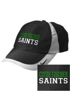 Clyde Fischer Middle School Saints Embroidered Nike Golf Colorblock Cap