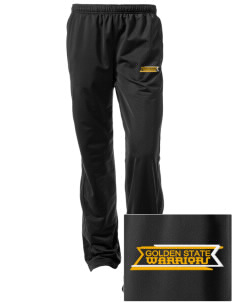 Golden State Middle School Warriors Embroidered Women's Tricot Track Pants