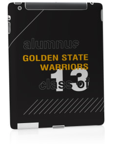 Golden State Middle School Warriors Apple iPad 2 Skin