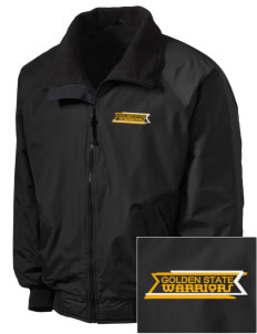 Golden State Middle School Warriors Embroidered Tall Men's Challenger Jacket