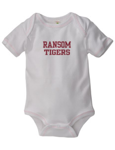Ransom Middle School Tigers Baby Zig-Zag Creeper