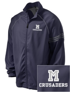 McCabe Elementary School Crusaders Embroidered adidas Men's ClimaProof Jacket