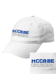 McCabe Elementary School Crusaders  Embroidered New Era Adjustable Unstructured Cap