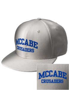 McCabe Elementary School Crusaders  Embroidered New Era Flat Bill Snapback Cap