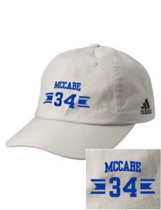 McCabe Elementary School Crusaders Embroidered adidas Relaxed Cresting Cap