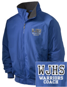 Wilson Junior High School Warriors Embroidered Holloway Men's Tall Jacket