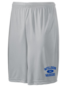 "Wilson Junior High School Warriors Men's Competitor Short, 9"" Inseam"