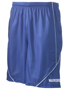 "Wilson Junior High School Warriors Men's Pocicharge Mesh Reversible Short, 9"" Inseam"
