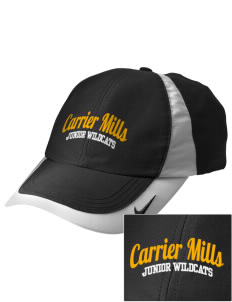 Carrier Mills Elementary School Junior Wildcats Embroidered Nike Golf Colorblock Cap