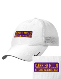 Carrier Mills Elementary School Junior Wildcats Embroidered Nike Golf Mesh Back Cap