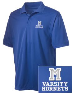 McCants Middle School Hornets Embroidered Men's Micro Pique Polo