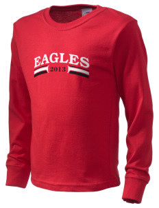 Eagle View Elementary School Eagles  Kid's Long Sleeve T-Shirt