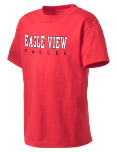 Eagle View Elementary School Eagles Kid's Lightweight T-Shirt