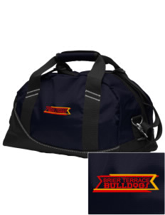 Brier Terrace Middle School Bulldogs Embroidered OGIO Half Dome Duffel